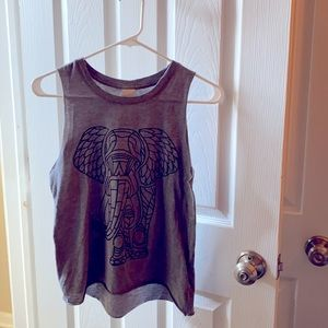 Hollister | woman's size XS tank top with elephant